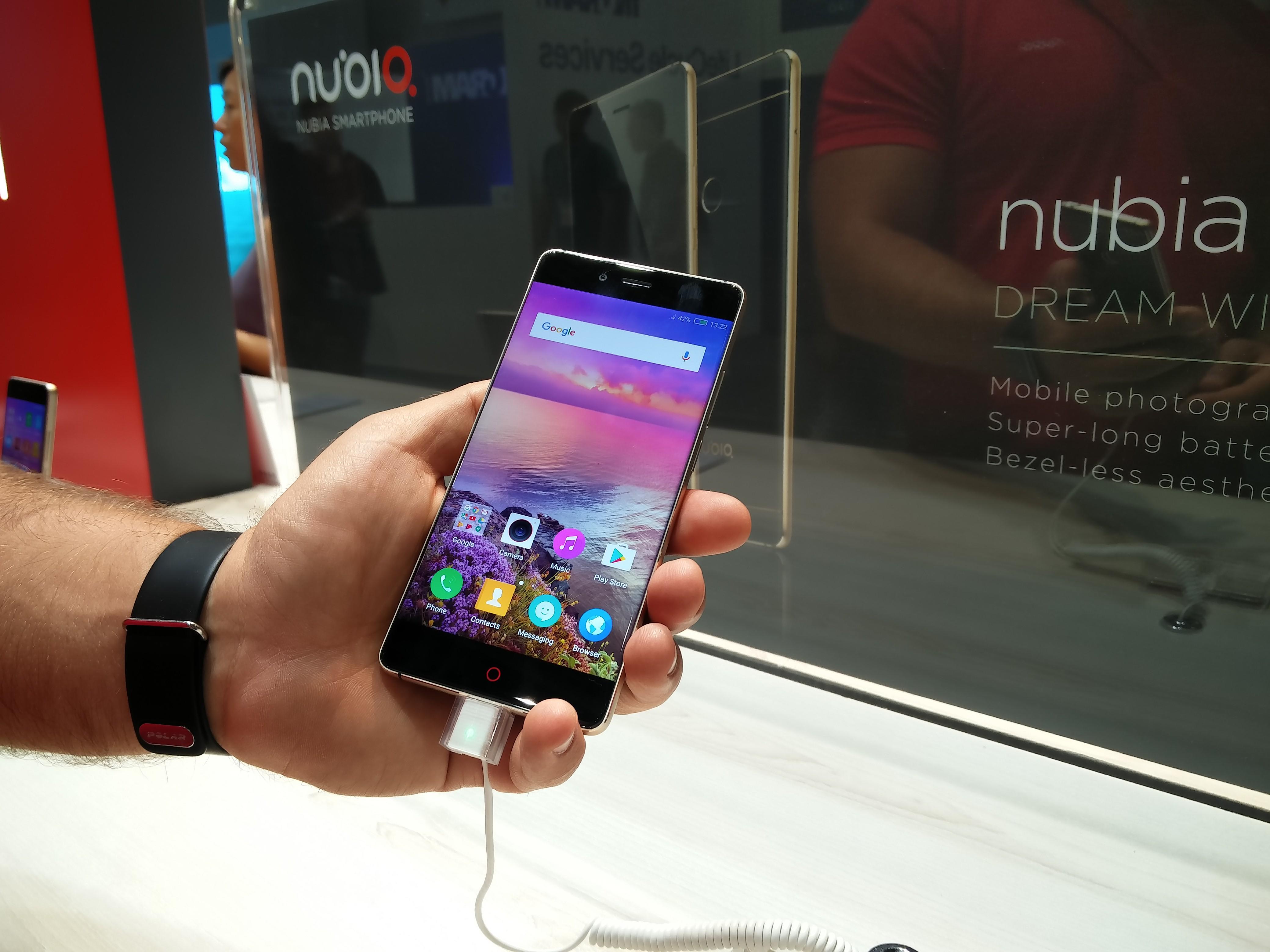 Nubia z11 smartfon reklamowany przez Cristiano Ronaldo